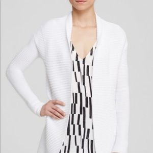 Vince Ribbed Cotton Cardigan